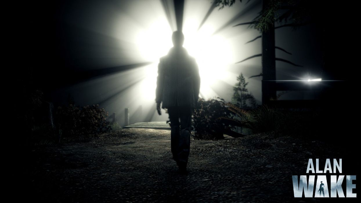 light video games Alan Wake wallpaper