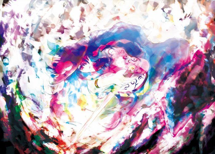 video games Touhou Hinanawi Tenshi anime girls wallpaper