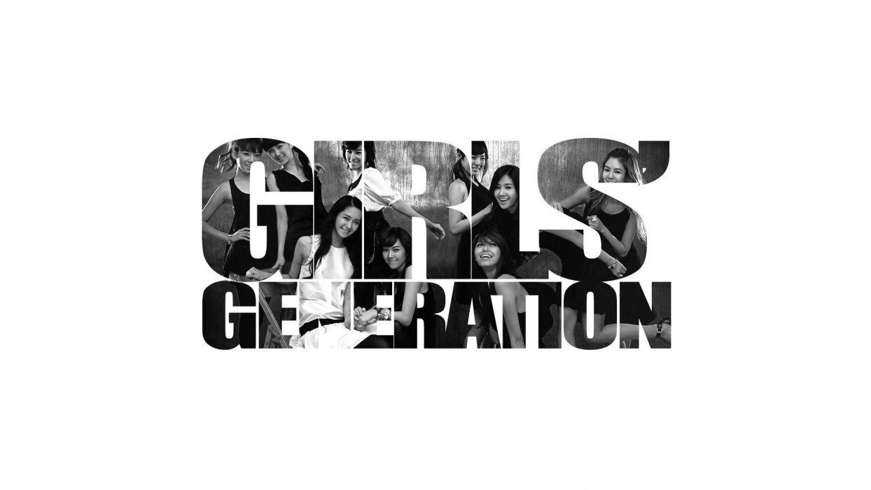 music Girls Generation SNSD celebrity Asians Korean Korea singers K-Pop band simple background South Korea wallpaper