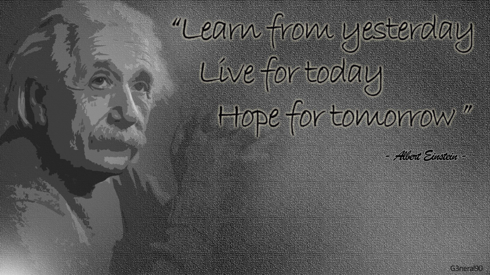 einstein quotes wallpapers for desktop quotesgram