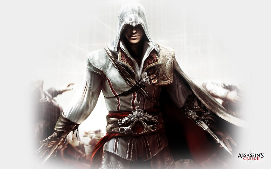 video games assassin Assassins Creed Ezio wallpaper