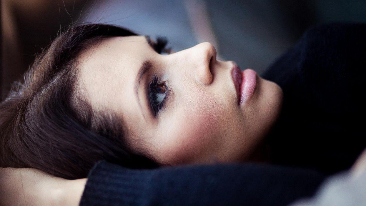 women eyes models eva langoria wallpaper