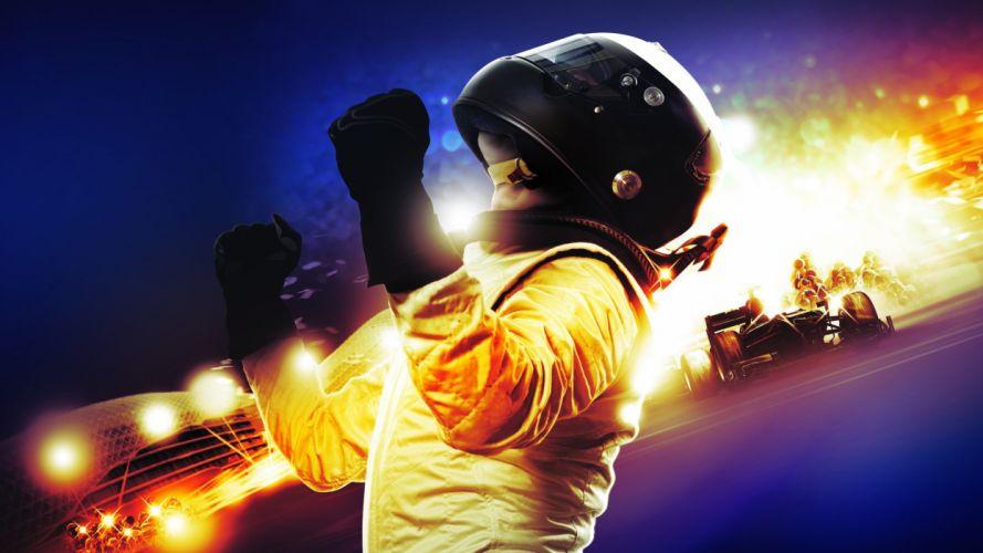 Formula One helmets wallpaper