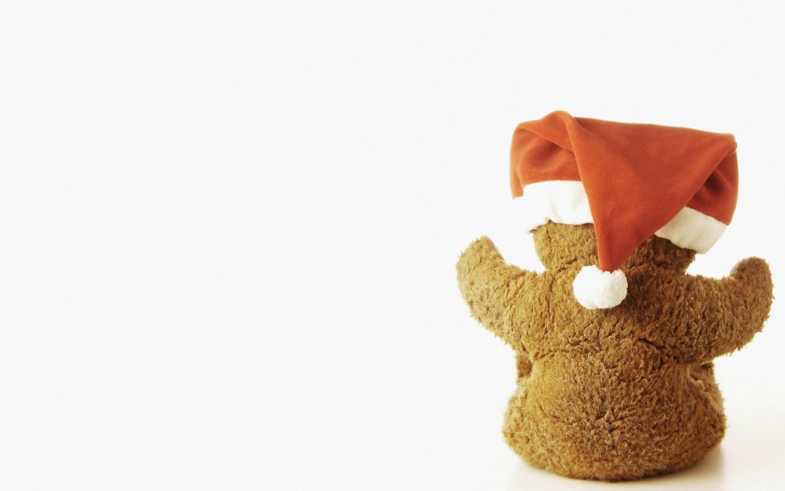 minimalistic red brown toys (children) stuffed animals dolls teddy bears wallpaper