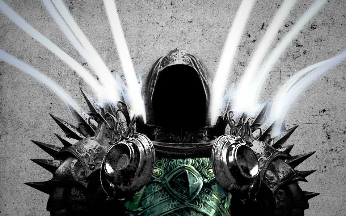Diablo Tyrael Diablo III Archangel armory wallpaper