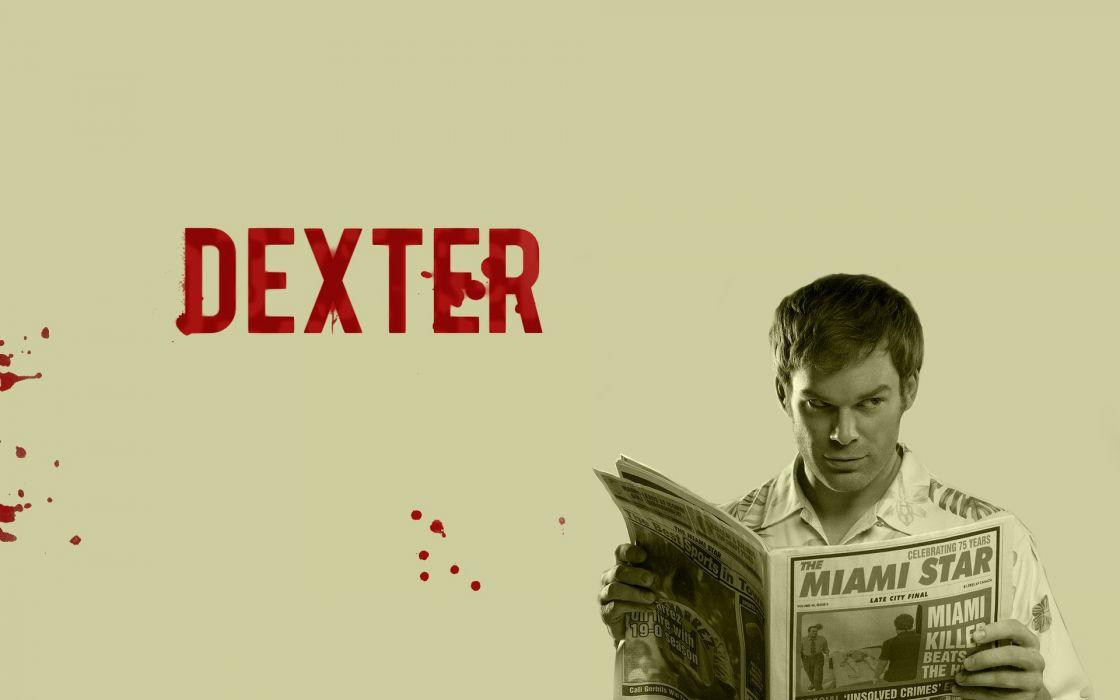 Dexter Michael C_ Hall Dexter Morgan wallpaper