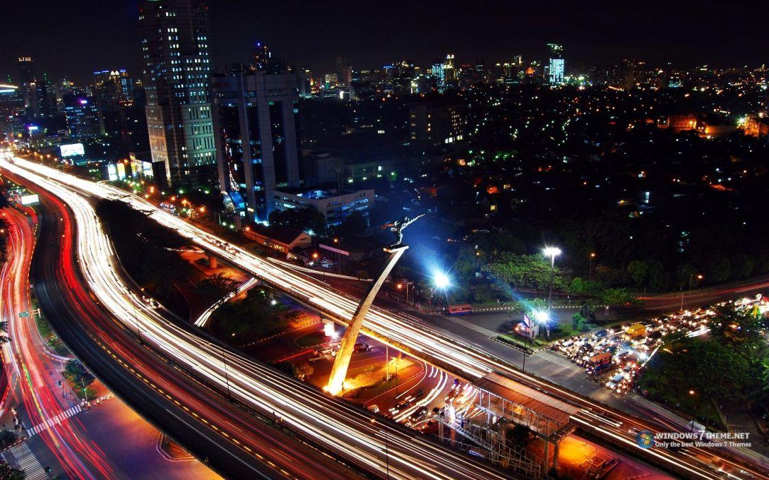 cities jakarta wallpaper