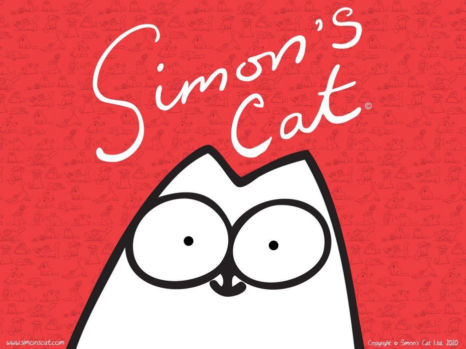 Simon's cat wallpaper