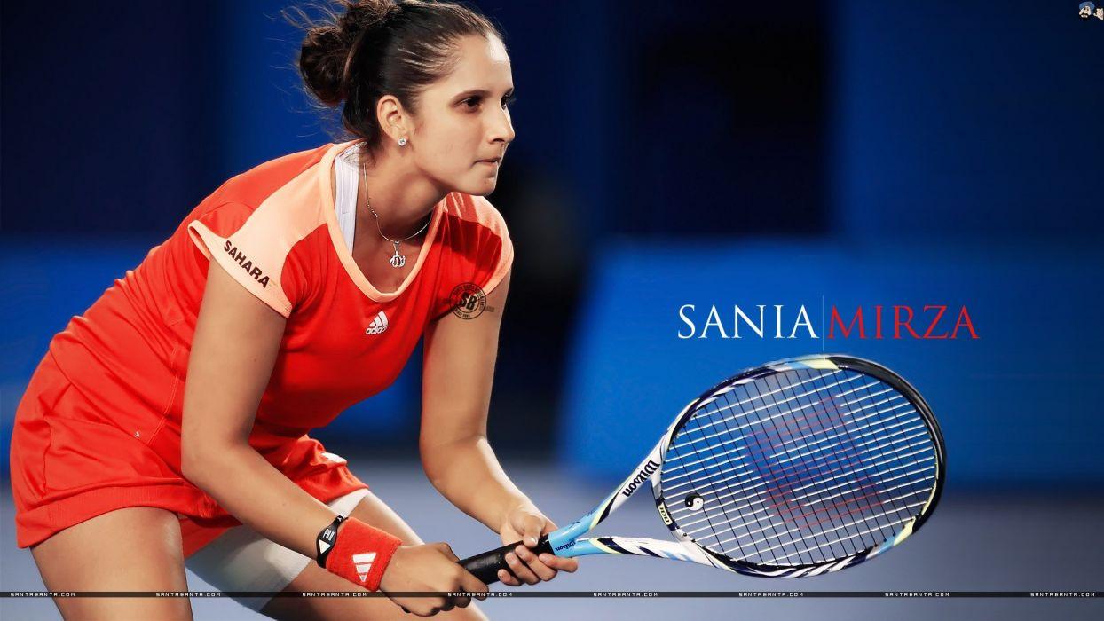 tennis Sania Mirza wallpaper