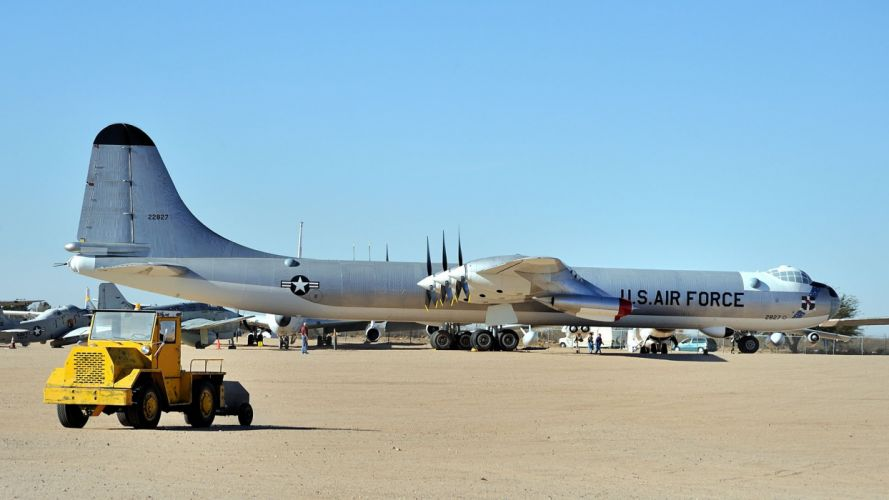 aircraft military United States Air Force vehicles B-36 Peacemaker wallpaper