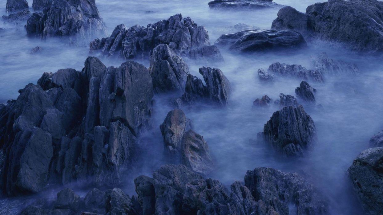 nature tide beaches wallpaper