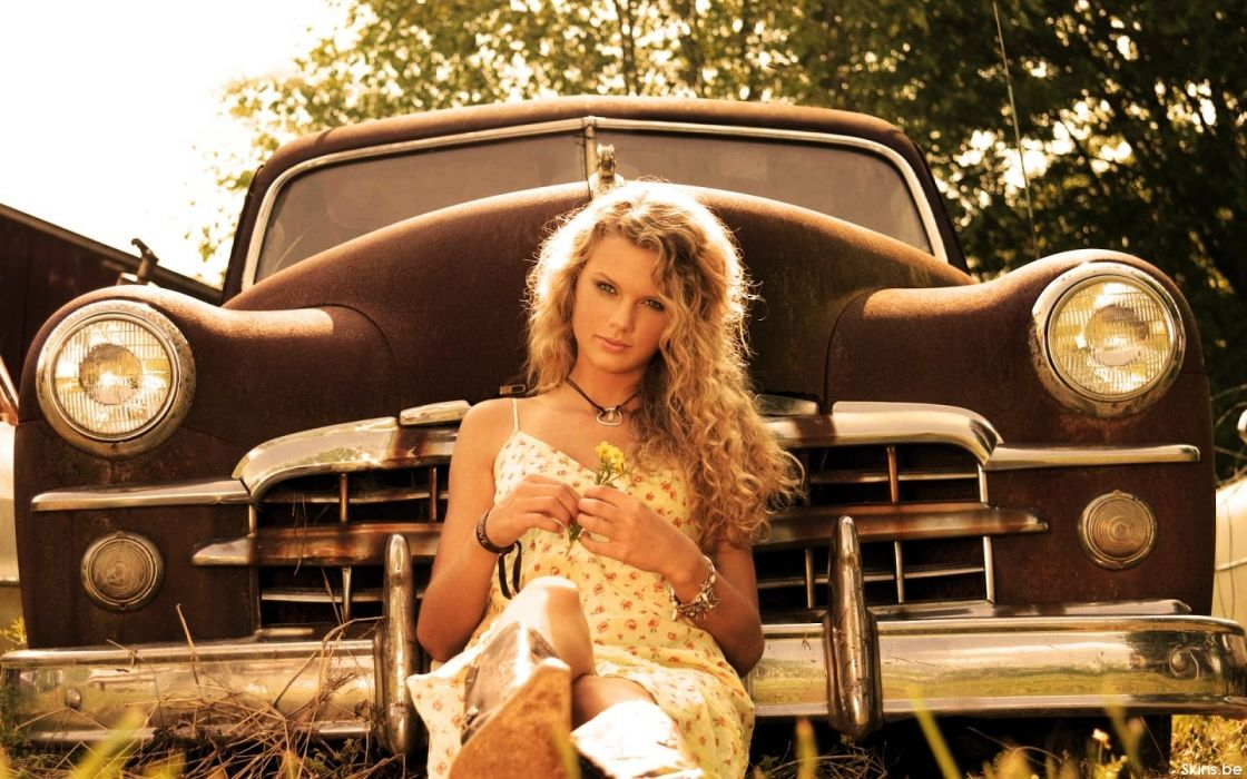 blondes cars Taylor Swift celebrity singers wallpaper