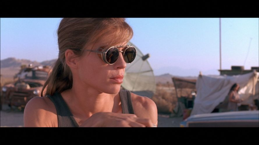 Terminator screenshots Linda Hamilton wallpaper