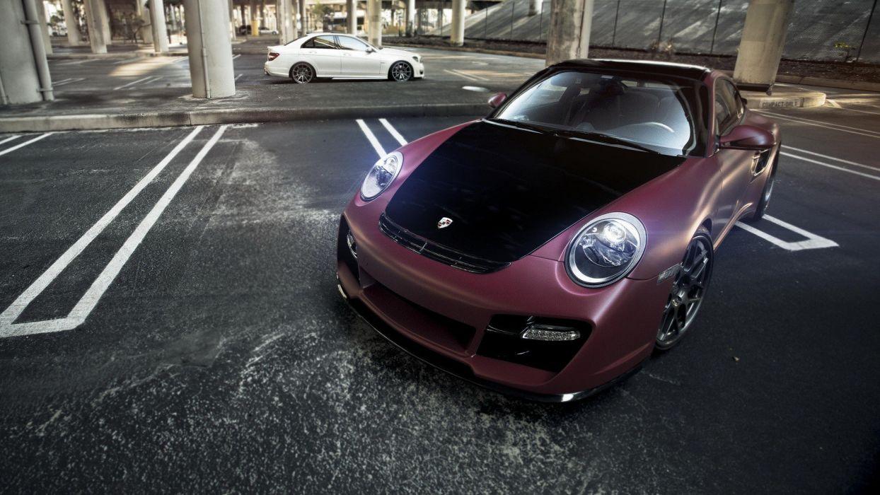 cars tuning Porsche 911 Vorsteiner wallpaper