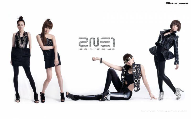 2NE1 Dara Minzy Park Bom K-Pop CL (singer) white background wallpaper