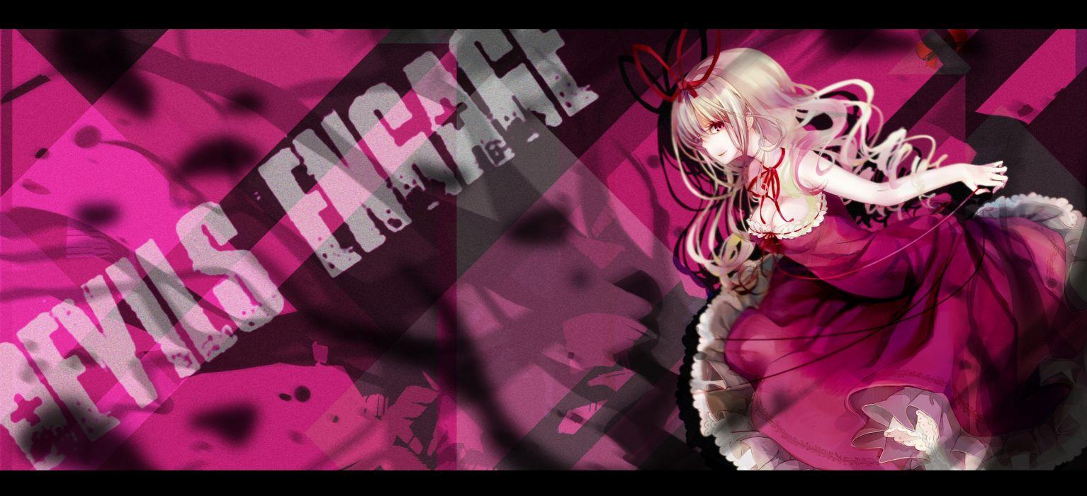 blondes Touhou Yakumo Yukari purple eyes wallpaper