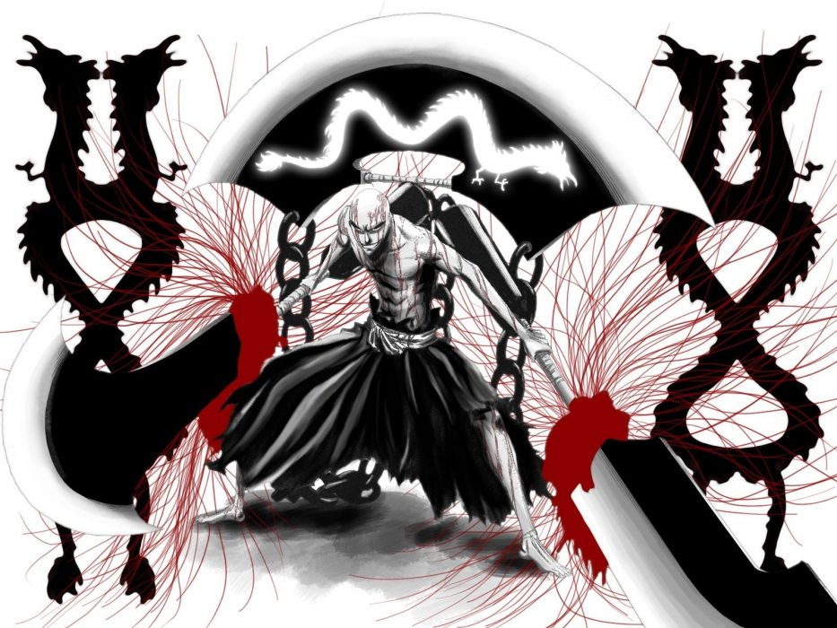 Bleach bankai Ikkaku Madarame wallpaper