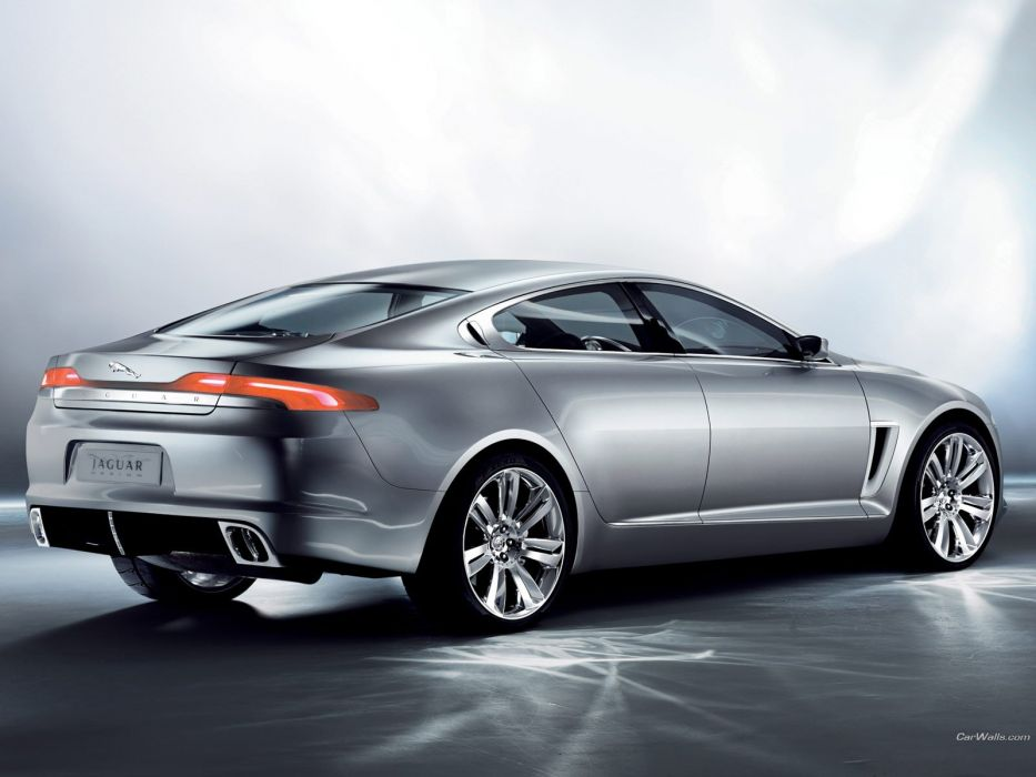 cars Jaguar silver wallpaper