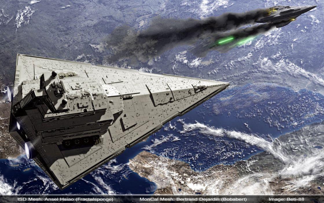 Star Wars Star Destroyer wallpaper