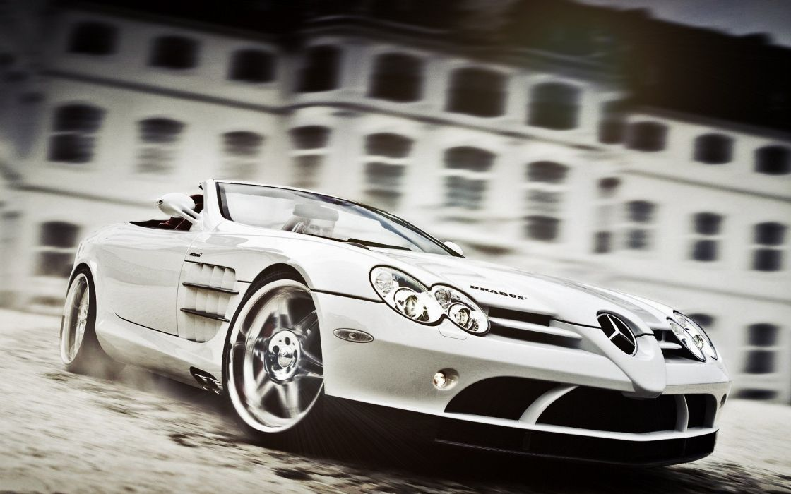 cars Mercedes-Benz SLR McLaren wallpaper