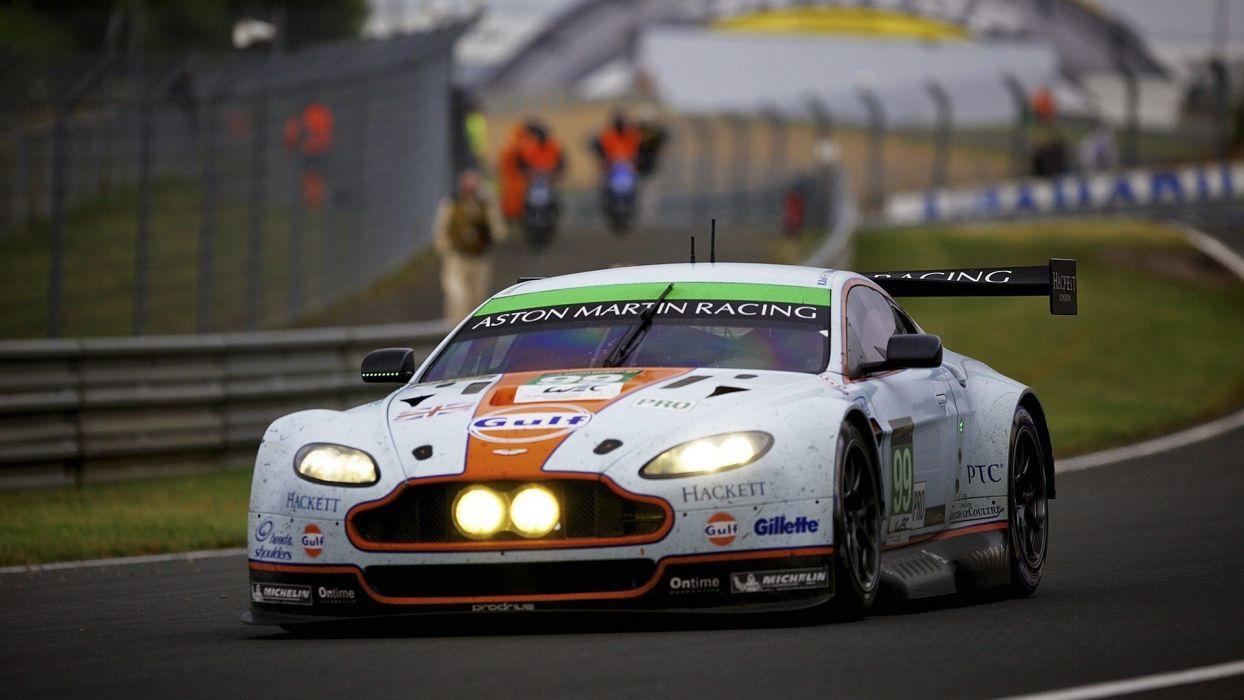 cars race track Aston Martin sport cars wallpaper