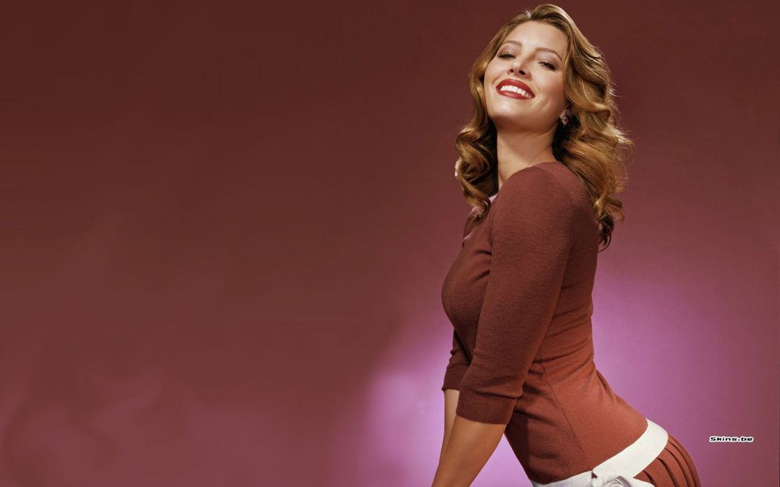 women models Jessica Biel wallpaper