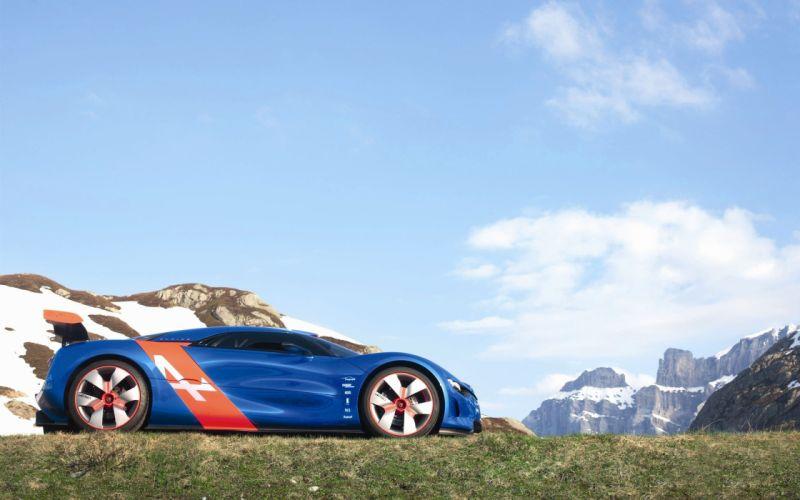 cars Renault Alpine Alpine A110 wallpaper