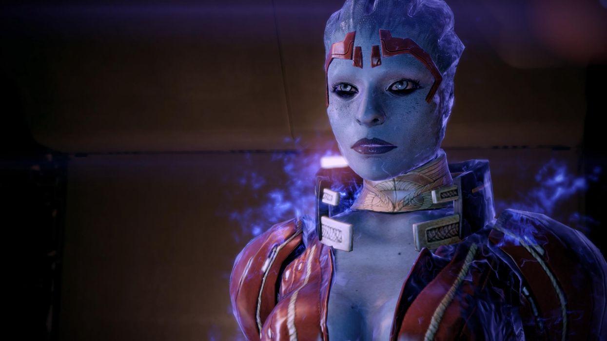 screenshots Mass Effect 2 Justicar Samara wallpaper