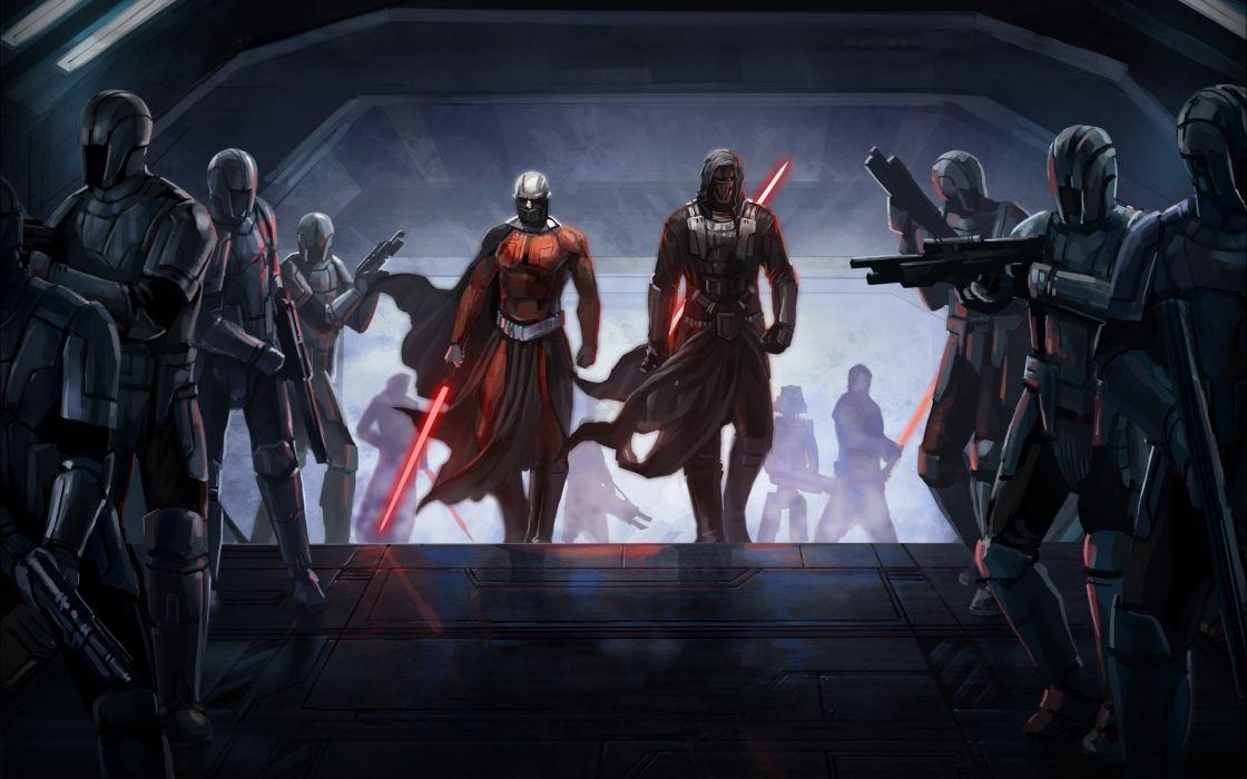 Star Wars video games Sith Kotor wallpaper