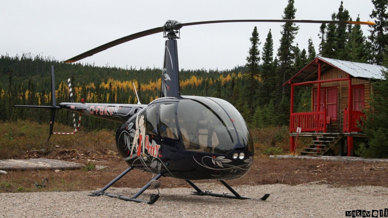 helicopters Robinson R44 wallpaper