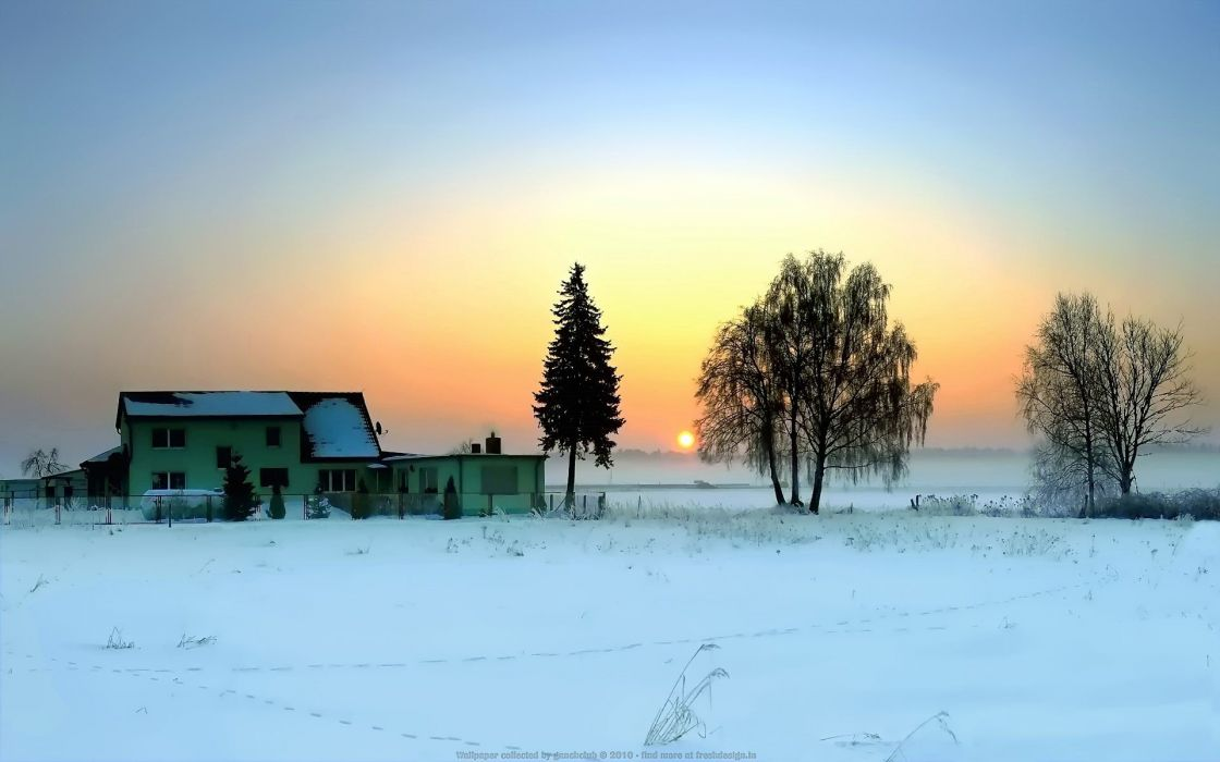 landscapes winter wallpaper
