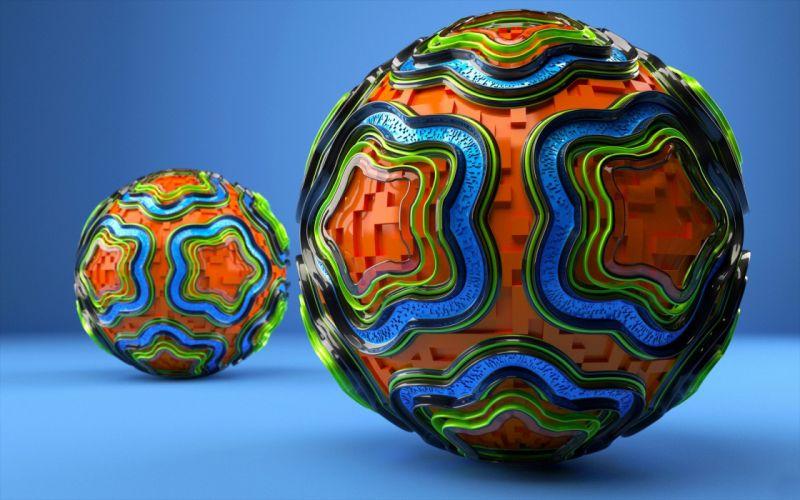 balls wallpaper
