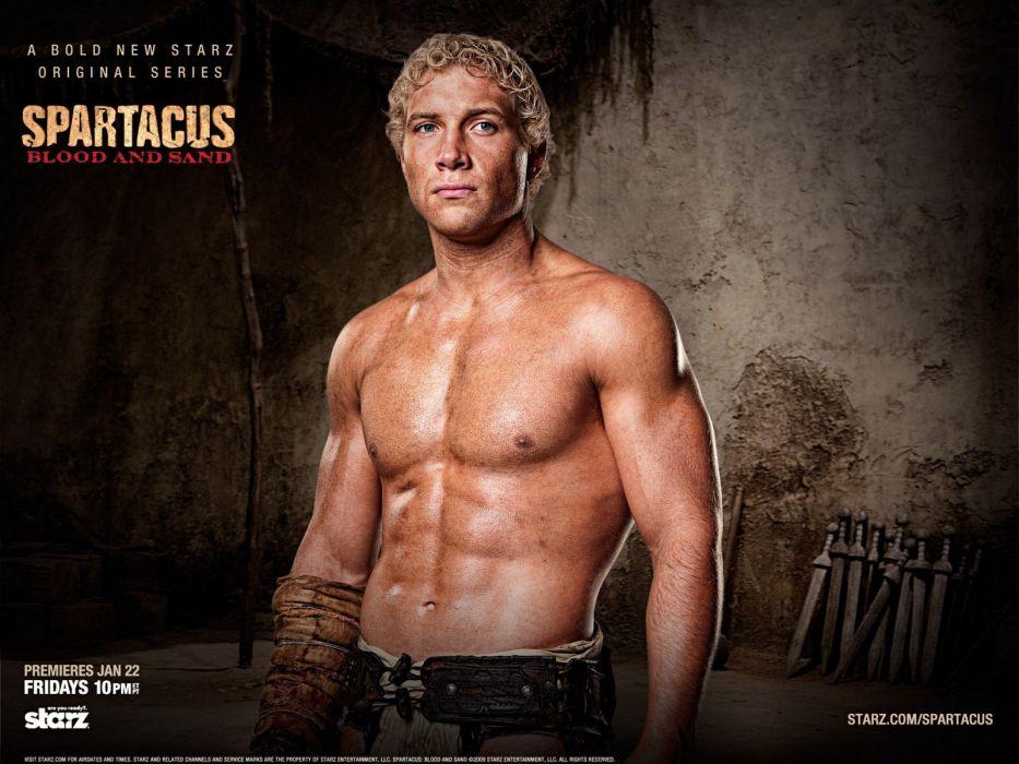Spartacus Spartacus: Blood and Sand Jai Courtney wallpaper
