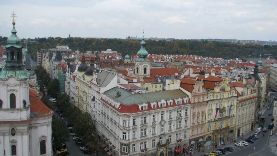 cityscapes architecture Czech Republic Praha wallpaper