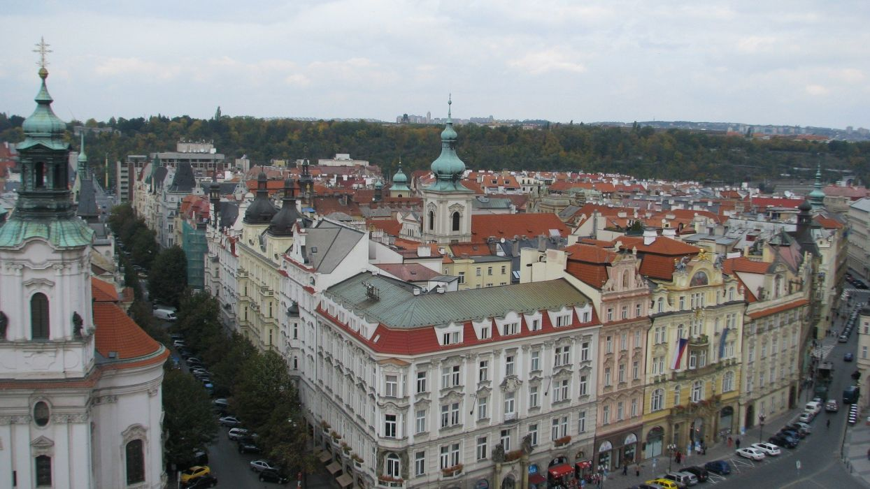 cityscapes architecture Czech Republic Praha wallpaper