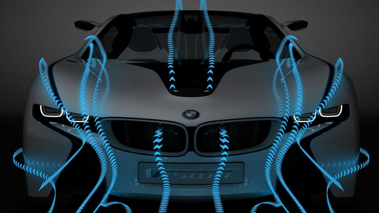 cars BMW Vision wallpaper