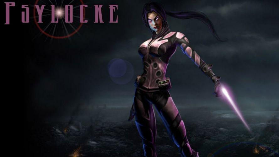 comics Psylocke Marvel Comics wallpaper