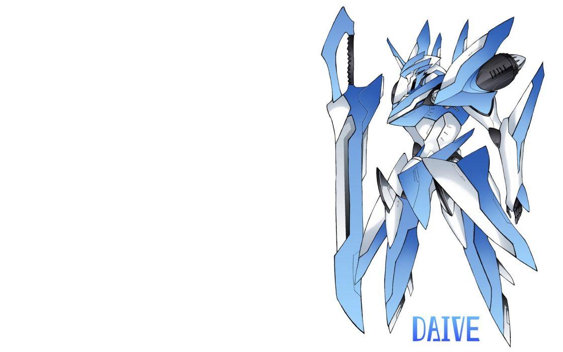 robots mecha Pixiv swords white background wallpaper