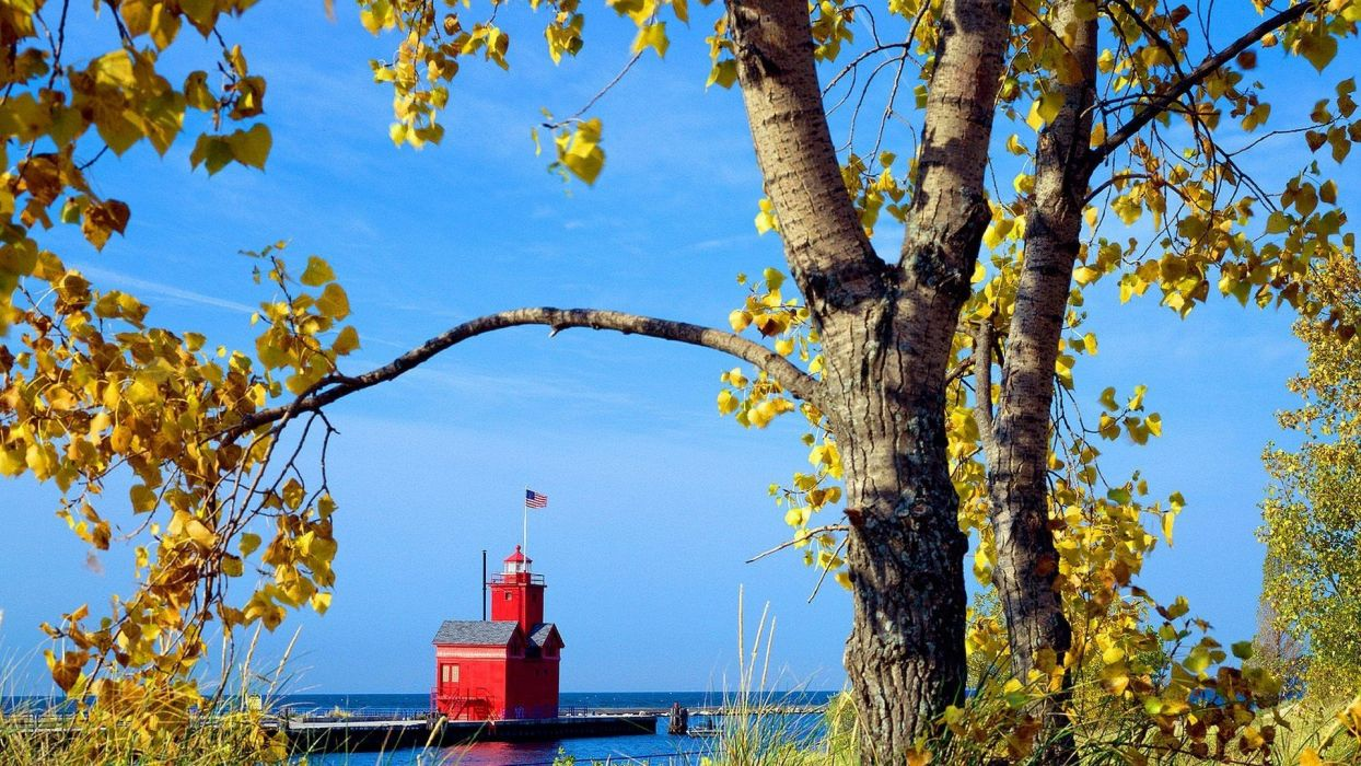 Holland Michigan Harbor wallpaper