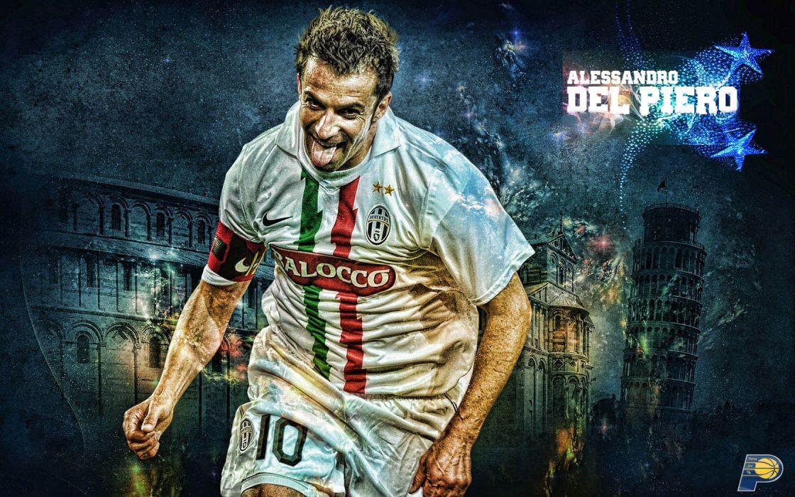 soccer Del Piero Juventus FC wallpaper