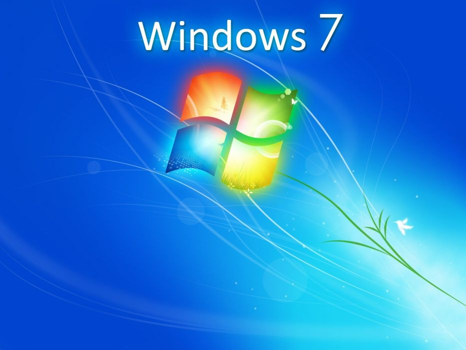 Windows 7 logos wallpaper