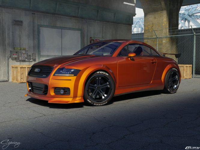 cars room Audi TT tuned wallpaper