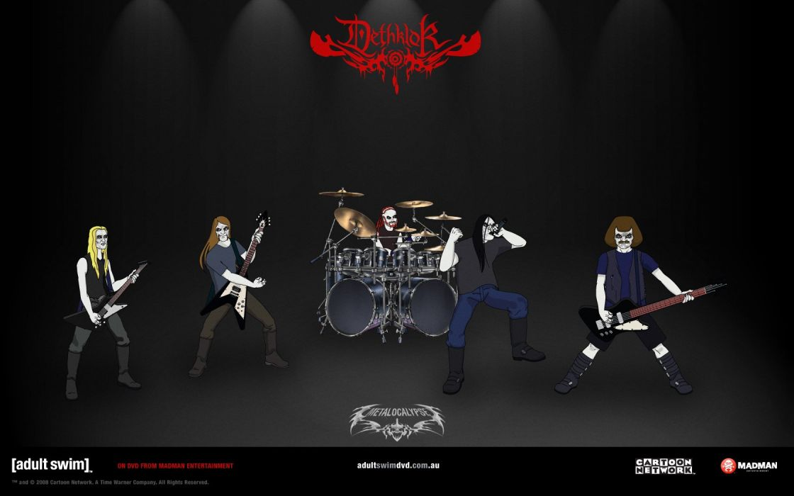 dethklok Metalocalypse wallpaper