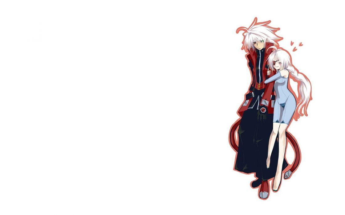Blazblue anime manga simple background wallpaper