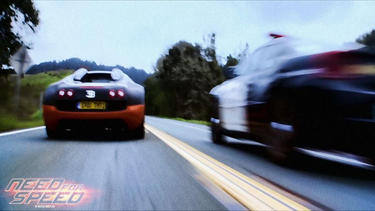 NEED FOR SPEED action crime drama police bugatti supercar race racing wallpaper