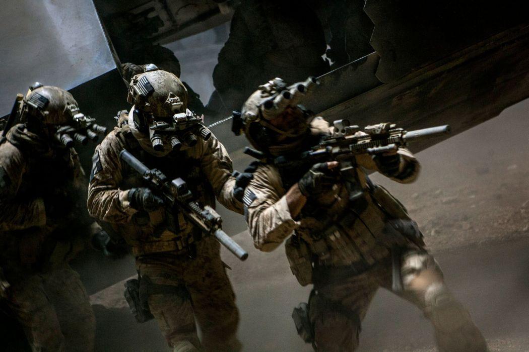 ZERO DARK THIRTY drama history military thriller soldier weapon gun wallpaper