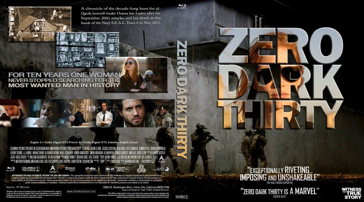 ZERO DARK THIRTY drama history military thriller poster wallpaper
