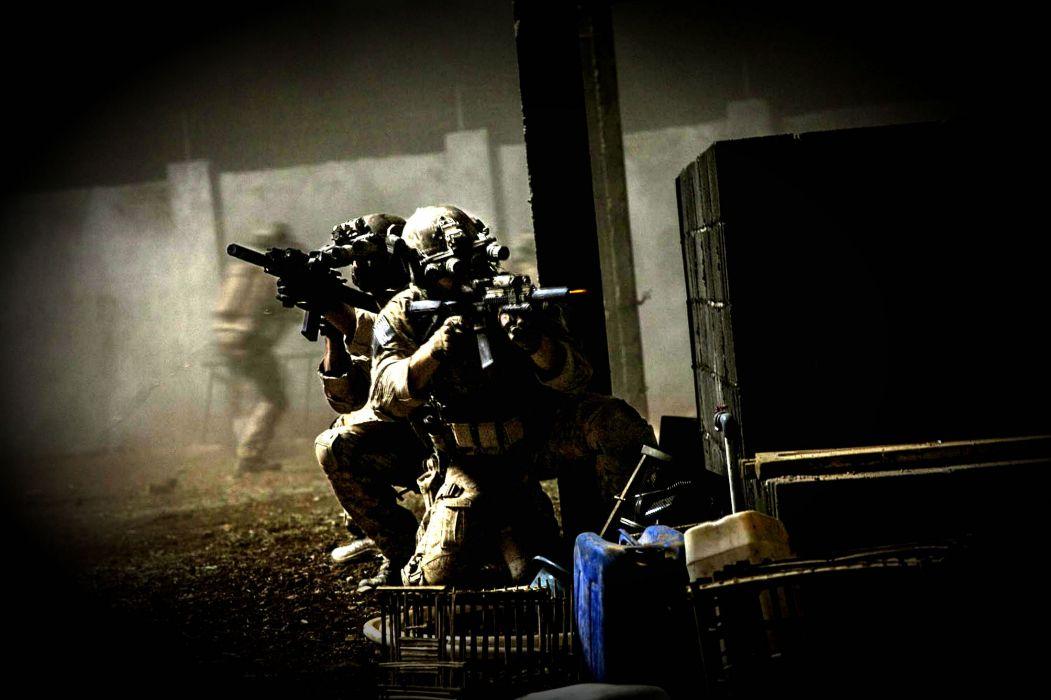 ZERO DARK THIRTY Drama History Military Thriller Weapon Gun Battle Soldier Wallpaper