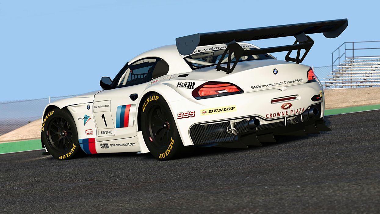 BMW Z4 GT3 wallpaper