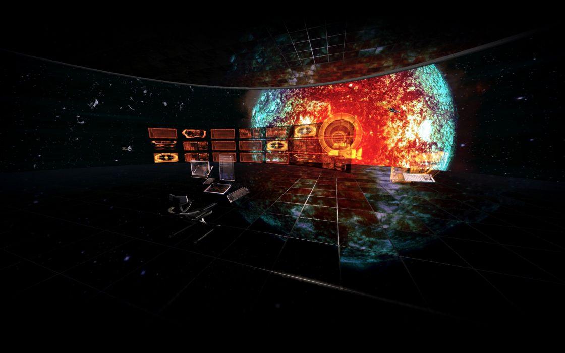 Illusive Man Mass Effect 3 Cronos Station wallpaper